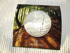 $20 WOLF COIN CANADA 2013 $20 WOLF 99.99 SILVER COMMEMORATIVE $20 WOLF COIN
