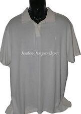 NWT POLO RALPH LAUREN XXL 2XL $125 casual polo shirt ivory featherweight soft