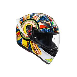 New AGV K1 Helmet Dreamtime Blue/Yellow/Red #750192313