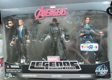 MARVEL LEGENDS INFINITE SERIES AVENGERS AGENTS COULSON, MARIA HILL & NICK FURY