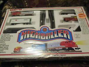 Vintage Bachmann 5 Highballer N Scale Lighted Electric Starter Train Set Rare