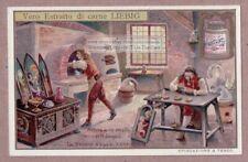 1600s Enamel Art Artist Studio Art Kiln Oven Sullo Smalto 1905 Trade Ad Card: