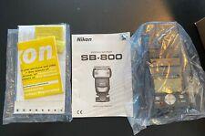 Nikon Sb-800 Speedlight Flash Sb800