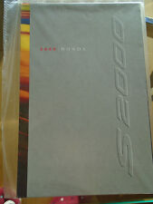 Honda S2000 brochure 2000 USA market small format