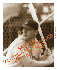 MICKEY MANTLE PHOTO 1961 SEASON 5x7 KO-DAK PAPER NY YANKEES