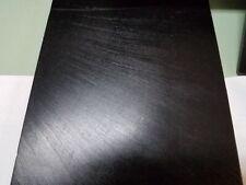 """3/16"""" x 5-3/4"""" X 23-3/4"""" Urethane / Polyurethane 80 A Black Sheet P/N 12346"""