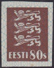 ESTONIA 1928 Mi 86 Imperforated MNH OG