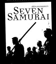 Seven Samurai 00004000  (Dvd, 1998, Criterion Collection)