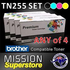 ANY 4x TN255 B/C/M/Y Toner Cartridge for Brother HL3150CDN HL3170CDW