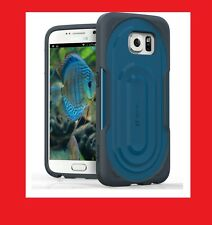 BRAND NEW Galaxy S6 Cell Phone Rugged Case Hybrid Cover (Dark Gray/Black)