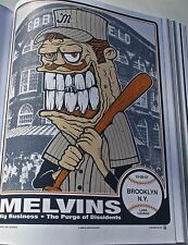 The Melvins Poster Concert Poster Reprint for 2007 Brooklyn NY  14x10 No 2
