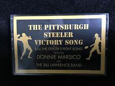 THE PITTSBURGH STEELER VICTORY SONG CASSETTE