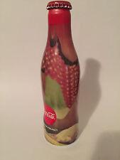 01  aluminum coca cola Qatar bottle Extremely rare empty