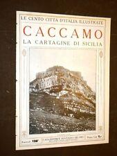 Caccamo, la Cartagine di Sicilia - Le Cento Città d'Italia illustrate