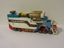 TRANSFORMERS THUNDER CLASS G2 OPTIMUS PRIME TURBOMASTER EUROPEAN RARE VERSION