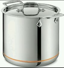 All-Clad 7 Quart Copper Core 5-Ply Stainless Steel Stockpot  With Lid**NEW**