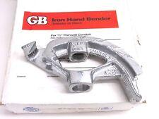 """New! Gb Gardner Bender Conduit Bender, 1/2"""" Emt, 920"""