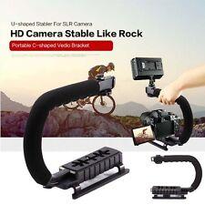 C Shape Bracket Video Handle Handheld Stabilizer Grip Holder for DSLR SLR Camera