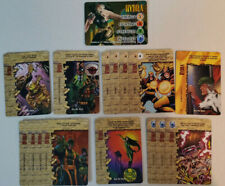 Marvel Overpower CCG Hydra Full Set Hero + All Specials 16 Card Lot