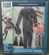 vintage action man 40th anniversary 1st issue black frogman suit carded boxed