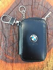 BMW Auto Car Key Chain Remote Holder Case Bag With Clip Wallet Pouch Z11X1
