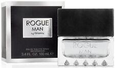 Men Rogue Man BY RIHANNA 3.4 oz  spray EDT NEW IN SEALED BOX