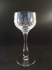 """Stuart Crystal GLENGARRY Hock Wine Glass Or Glasses 7""""/18 Cm Tall 5 Available"""