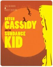 NEW Butch Cassidy And The Sundance Kid Steelbook Blu-Ray