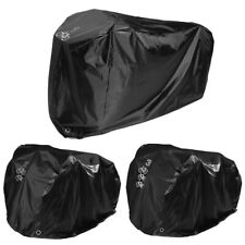 Waterproof Bike Cycle Bicycle Cover Outdoor Rain Rust Prevention For 1/2/3 Bikes
