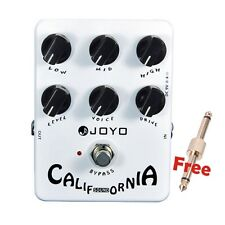 JOYO JF-15 California Sound Guitar Effect Pedal High-gain Lead Sound 6 Knobs