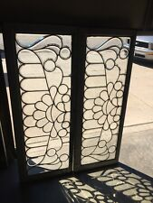 Co 15 Two Available Price Separate Antique All Beveled Glass Transom Window