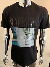 Philipp Plein Scarface L'Homme XL Gold Cut Black SS T-Shirt Genuine BNWT