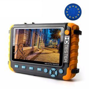 5inch HD CCTV Tester Monitor Support 8MP TVI/AHD 8MP CVI Camera, HDMI/VGA input
