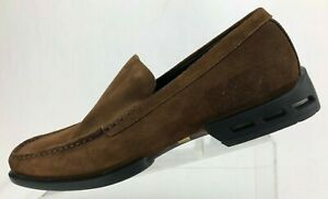 Rockport Loafers Cayetano Adidas Brown Suede Apron Toe Torsion Shoes Mens 11.5 M