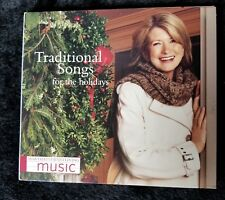 Audio CD - MARTHA STEWART - Traditional Songs Holiday (VG) - WORLDWIDE SHIPPING