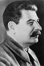 SOVIET UNION JOSEPH STALIN PORTRAIT 12x18 SILVER HALIDE PHOTO PRINT