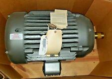 New Baldor 15 Hp Electric Motor 245tc Frame 230460 Vac 1760 Rpm 3 Cm2333t