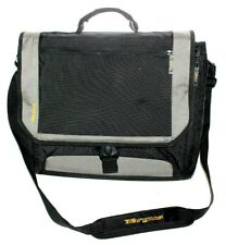 """Targus 18"""" Multi-Compartment Padded Ballistic Canvas Laptop Carry On Briefcase"""