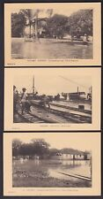 France Cols DAHOMEY nice lot c1910/20s x6 picture postcards unused ex 1