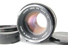 Canon FD 50mm f/1.4 MF Fix Prime SLR 35mm Lens For Canon FD w/ Caps