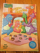 Dragon Tales Doodles Coloring Book Kids Tv Show Easy Tear Cut Out Paper Doll Ctw