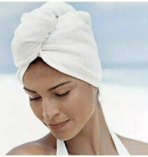 Microfiber Hair Wrap White Spa Turban Twist Quick Dry. New In Package.