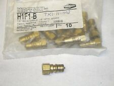 "Dixon Coupling H1F1-B 850681 1/8"" NPT Hydraulic Quick Coupler Nipple Plug"