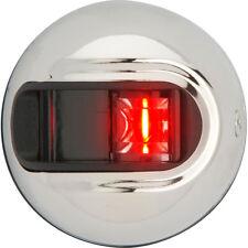 Attwood LightArmor Vertical Surface Mount Navigation Light - Port (red)