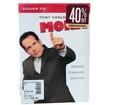 Monk - Season 6 (DVD, 2012, 4-Disc Set)