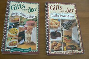 Gifts From a Jar recipe books , set of 2, desserts & savory foods