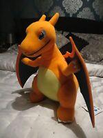 "Pokemon Banpresto 2016 Lizardon Night Large 12"" soft plush toy Charizard NWT"
