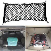 1Pc 70X70 Universal Car Trunk Rear Cargo Organizer Elastic Storage Mesh Net
