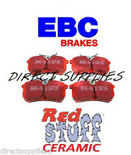 FORD FOCUS 2.0 TURBO RS REAR BRAKE PADS (EBC RED STUFF) MADE IN UK