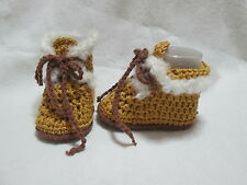 Scarponcini neonato realizzate a mano1/3/Scarpette neonato